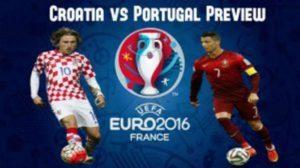 Prediksi Kroasia vs Portugal 26 Juni 2016